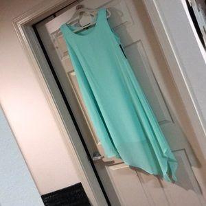 Ocean View Aqua dress!  Beach color.  🏖